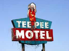 Motel Texas Tee Pee