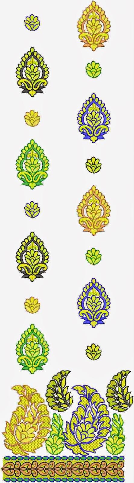 Suid-Asiatiese mode Lawn pak