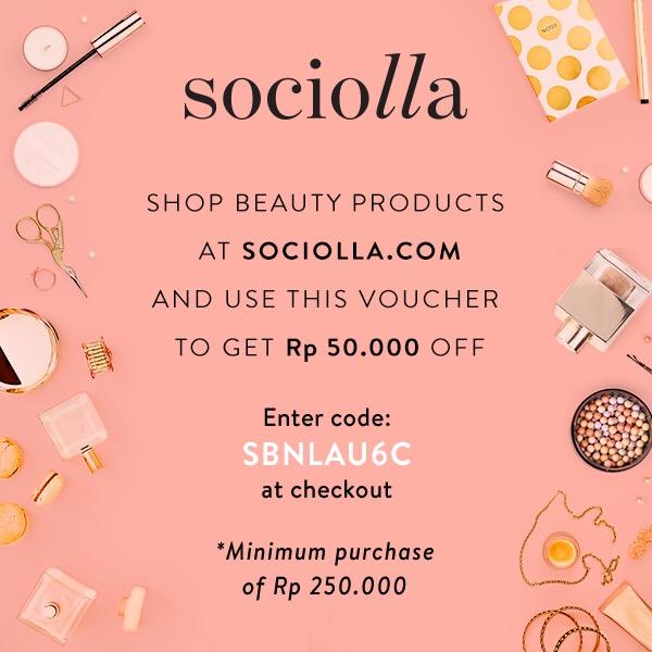 Sociolla's Discount