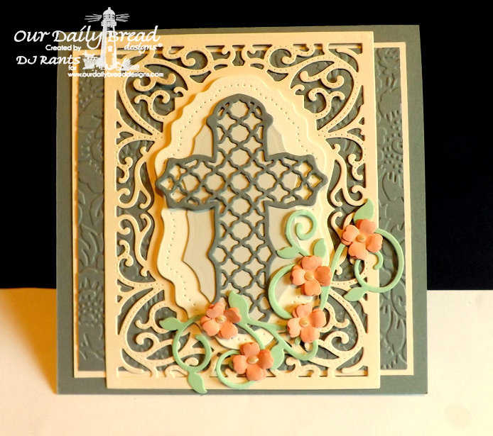 Our Daily Bread Designs, Vintage Flourish Pattern dies, Fancy Flourish dies, Ornamental Crosses dies