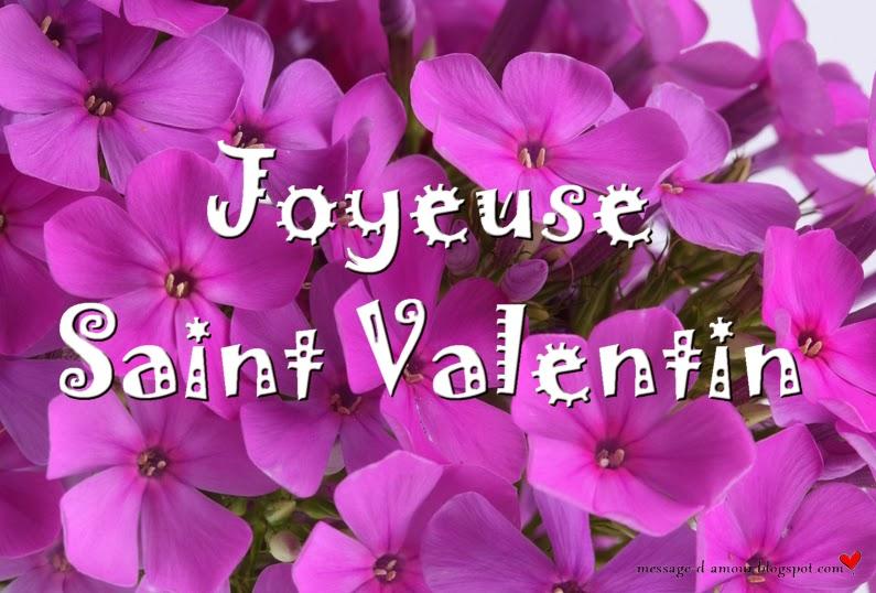 Cartes de saint valentin message d 39 amour - Carte de saint valentin ...