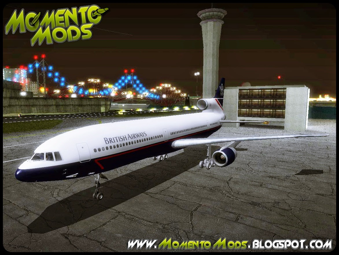 GTA SA - Avião Lockheed L-1011 TriStar British Airways