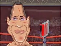 The Rock Vs John Cena Slapathon | Juegos15.com