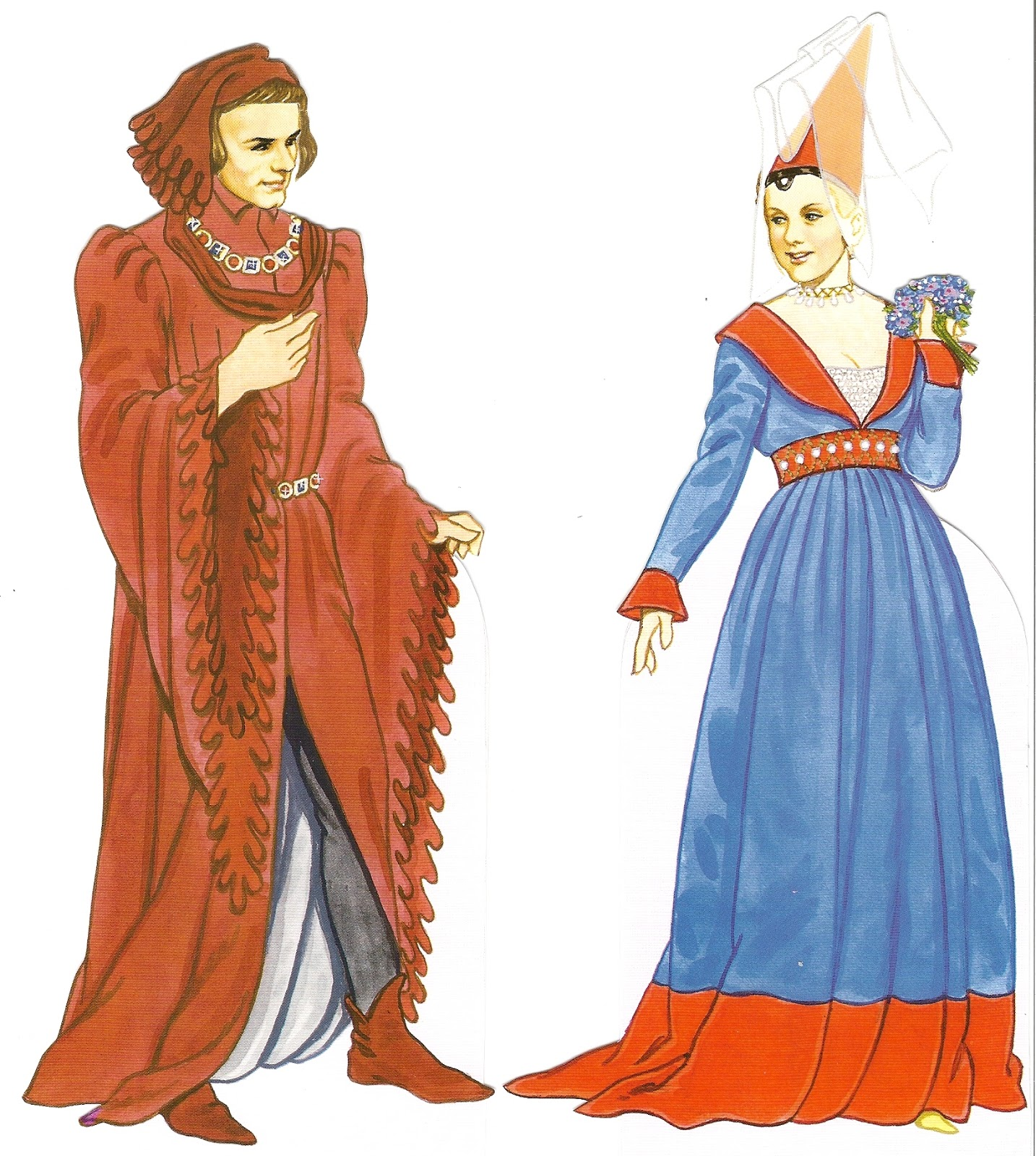 Medieval Time Period Clothing