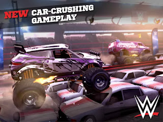 Game MMX Racing featuring WWE