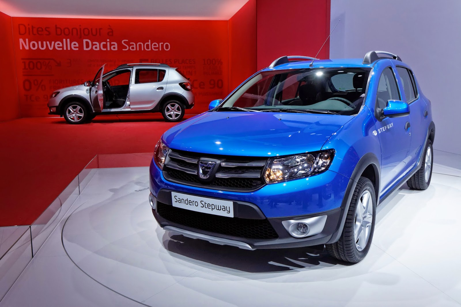 Dacia Sandero Stepway at the 2012 Paris Motor Show