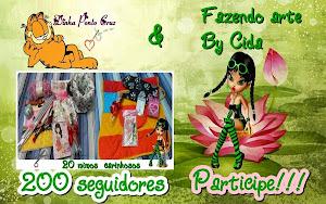 200 seguidores Fazendo Arte by Cida
