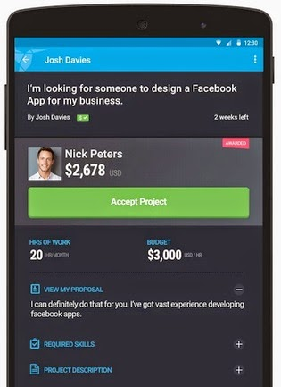 freelancer android app