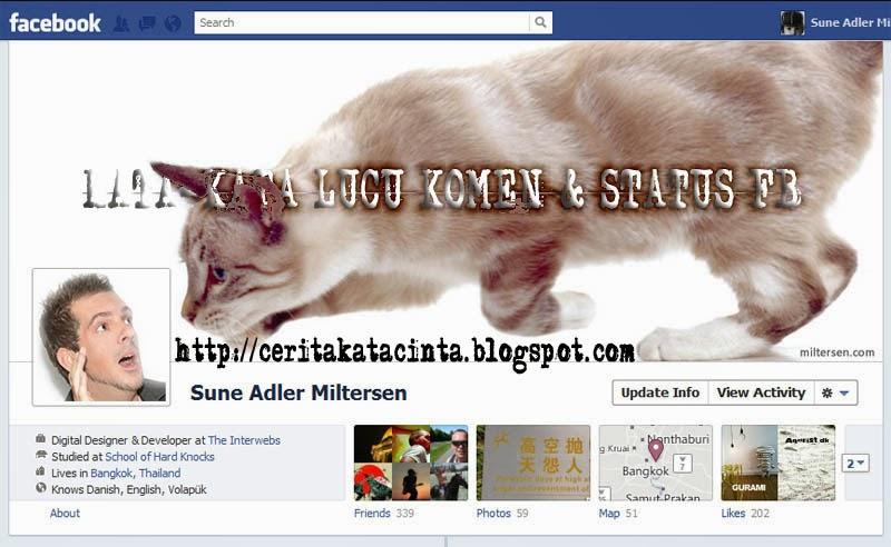 Kumpulan Kata-Kata Lucu Terbaru Super Gokil Di Facebook