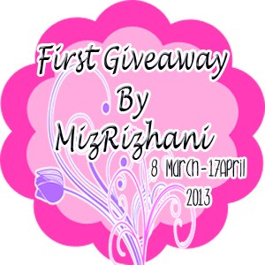 My First Giveaway