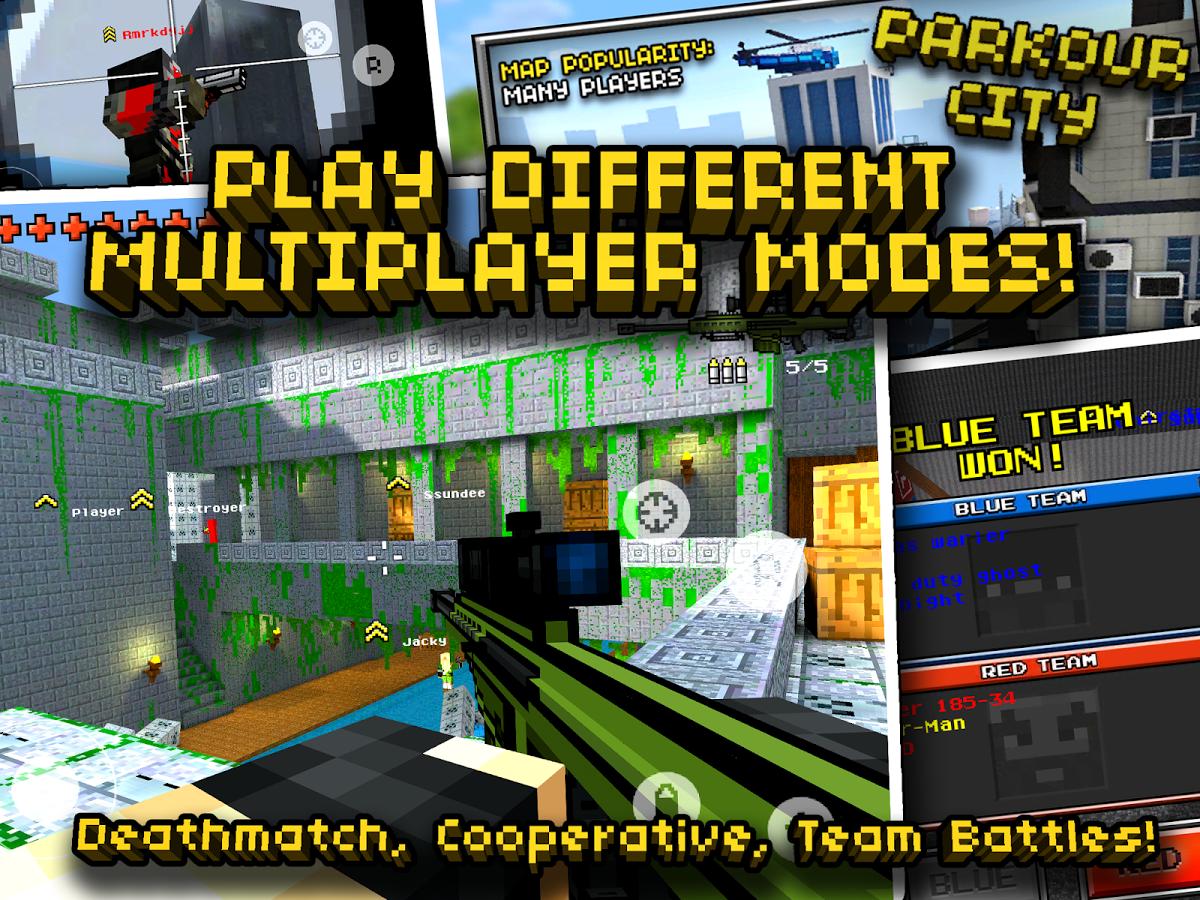Pixel Gun 3D MOD APK v6.2.1 (6.2.1) (Mod Unlimited Money)