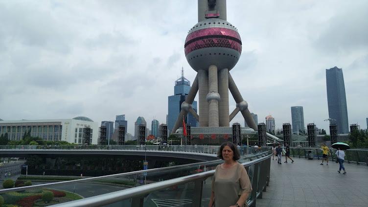 Pudong. Torre Perla Oriental