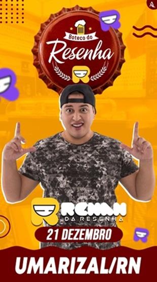 Do Instagram para Umarizal: O humorista RENAN DA RESENHA!