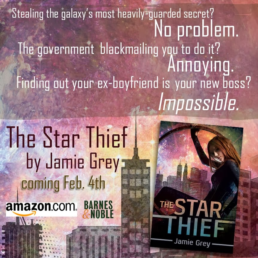 The Star Thief by Jamie Grey