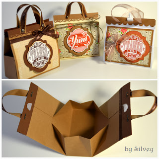 DIY Cardboard Purses as Party Favors.