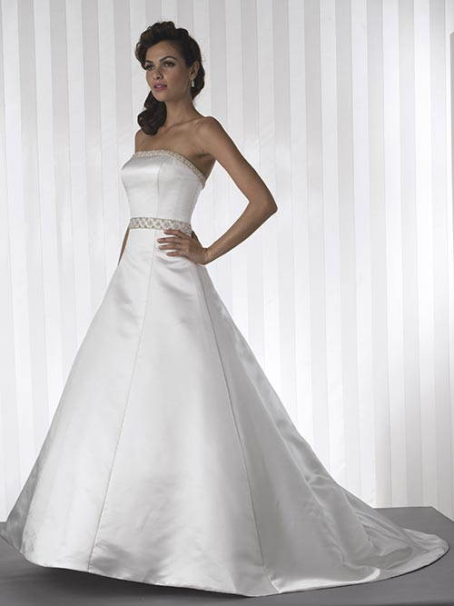 Wedding Strapless Dresses 12