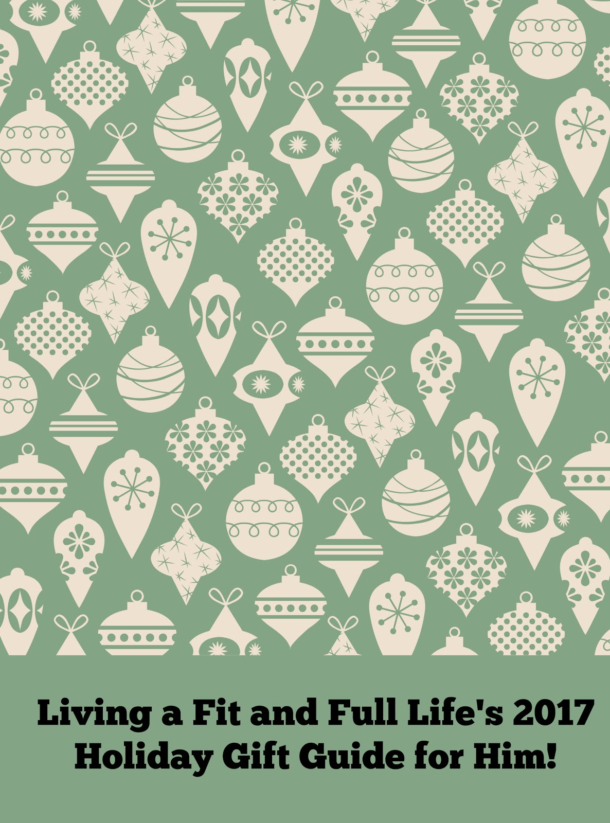 Living a Fit and Full Life's 2017 Holiday Gift Guide for Him!