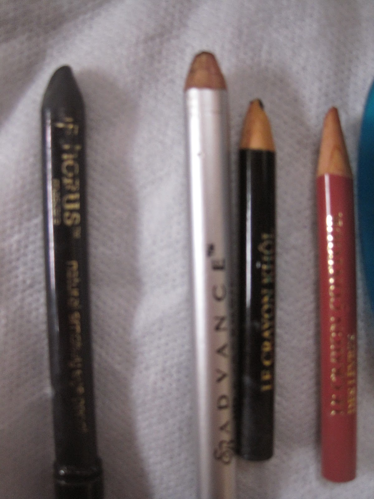 pencils- eye of horus, ever bilena, lancome