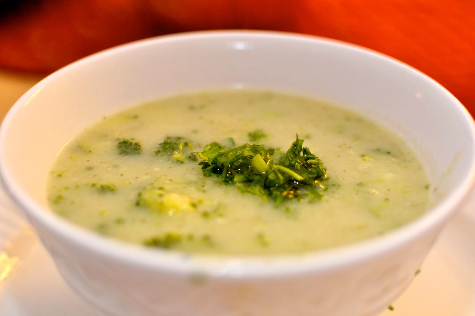 ... : Cooking for a Healthy Future: Creamy Coconut Milk Broccoli Soup