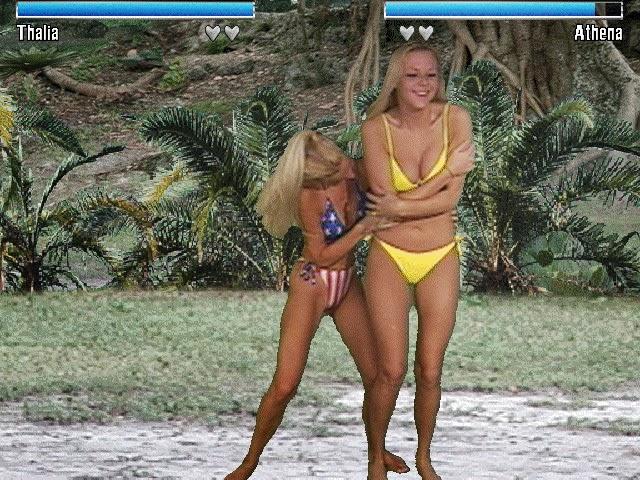 Las chicas se quitan el bikini