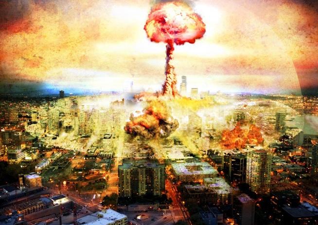Apocalipse: explosão atomica em 2036