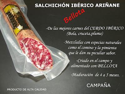 Salchichón Ibérico de Bellota Ariñane