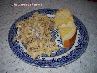 beef+stroganoff Sharons Easy Beef Stroganoff