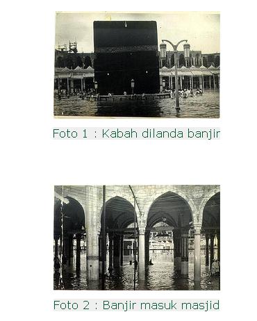 peristiwa banjir di Mekah ini berlaku dalam tahun 1941