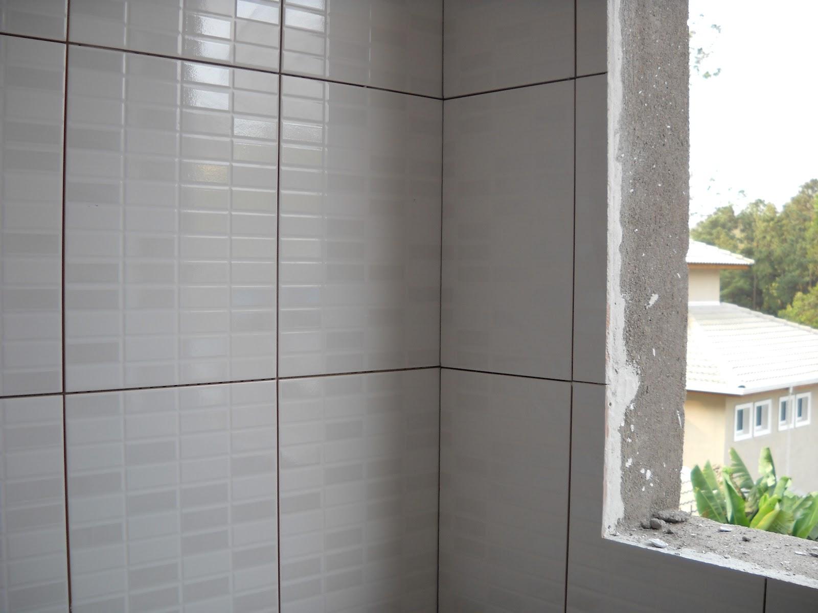 . Colocaremos azulejo somente na lavanderia despensa e nos banheiros  #697D4E 1600x1200 Banheiro Azulejo Pastilha