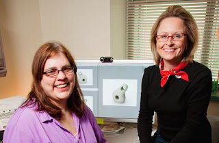 Sheila Schneider and Professor Deana McDonagh