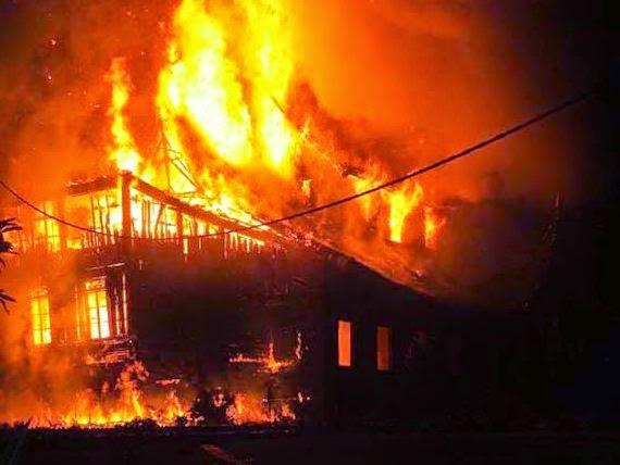 Mimpi Rumah Terbakar