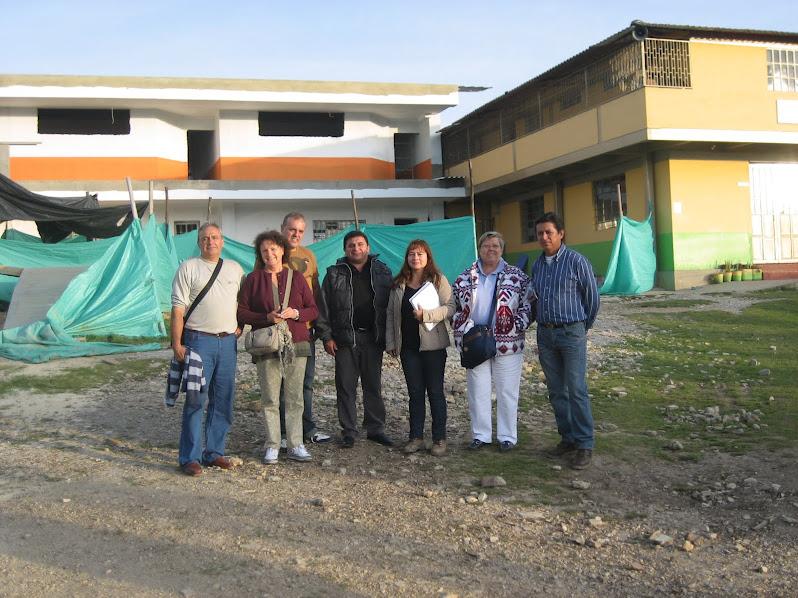 """Inauguració de l'escola """"SIMÓN BÓLIVAR"""" a Lenguazaque"""