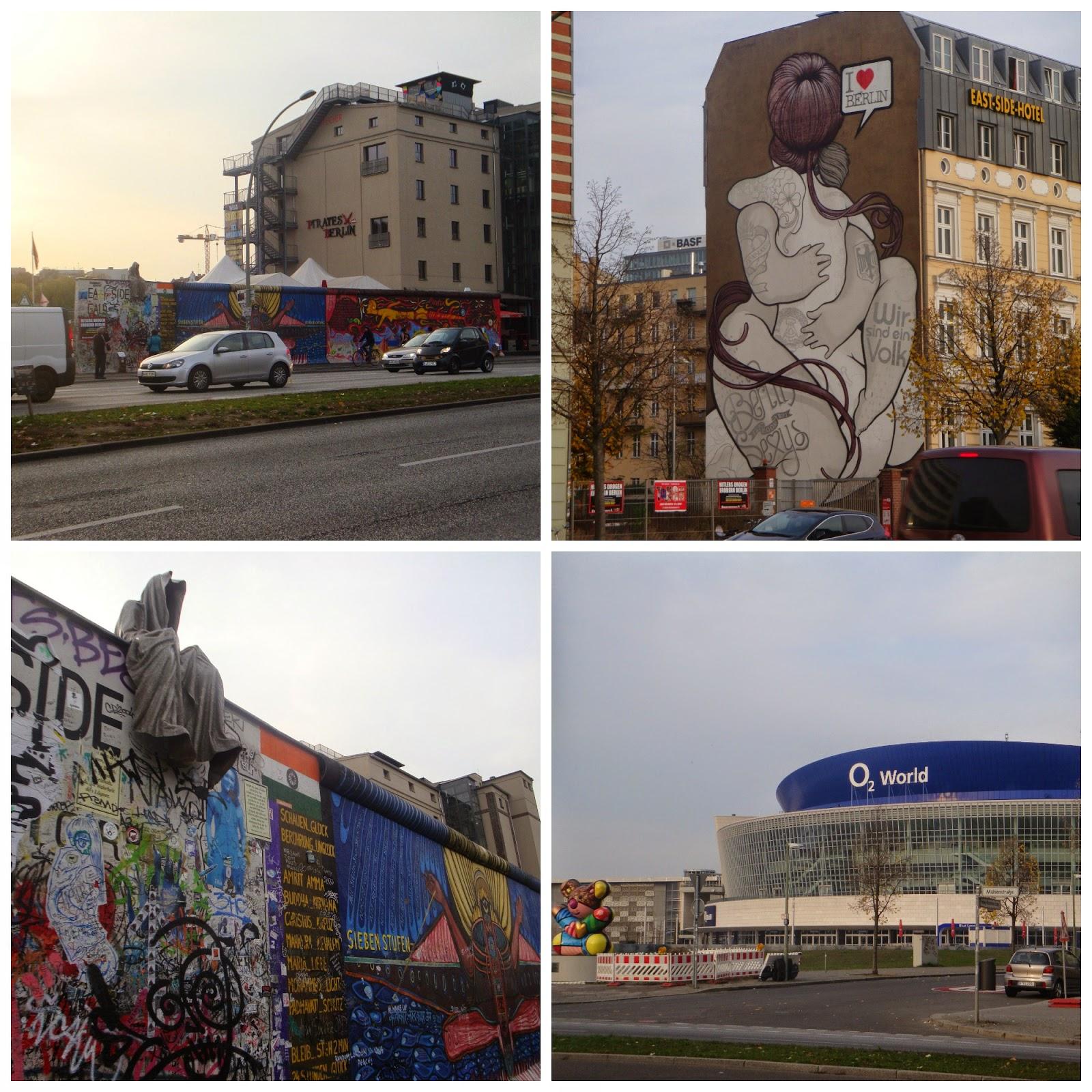 East Side Gallery em Berlim
