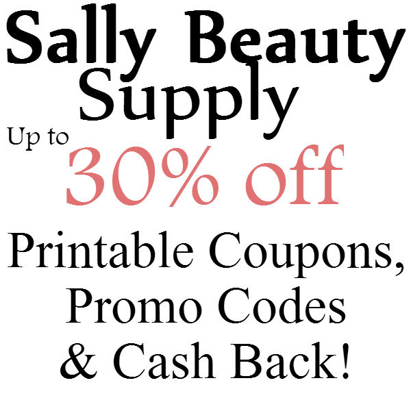 Sally's beauty coupon code