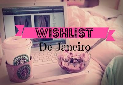 Minha lista de desejos