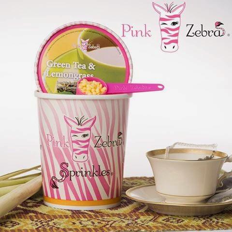 Pink Zebra Green Tea & lemongrass pic image