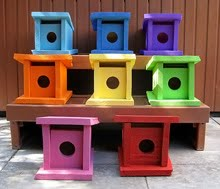 Bird Houses.....Coming Soon!!