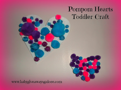 Valentine's Day, craft, toddler craft