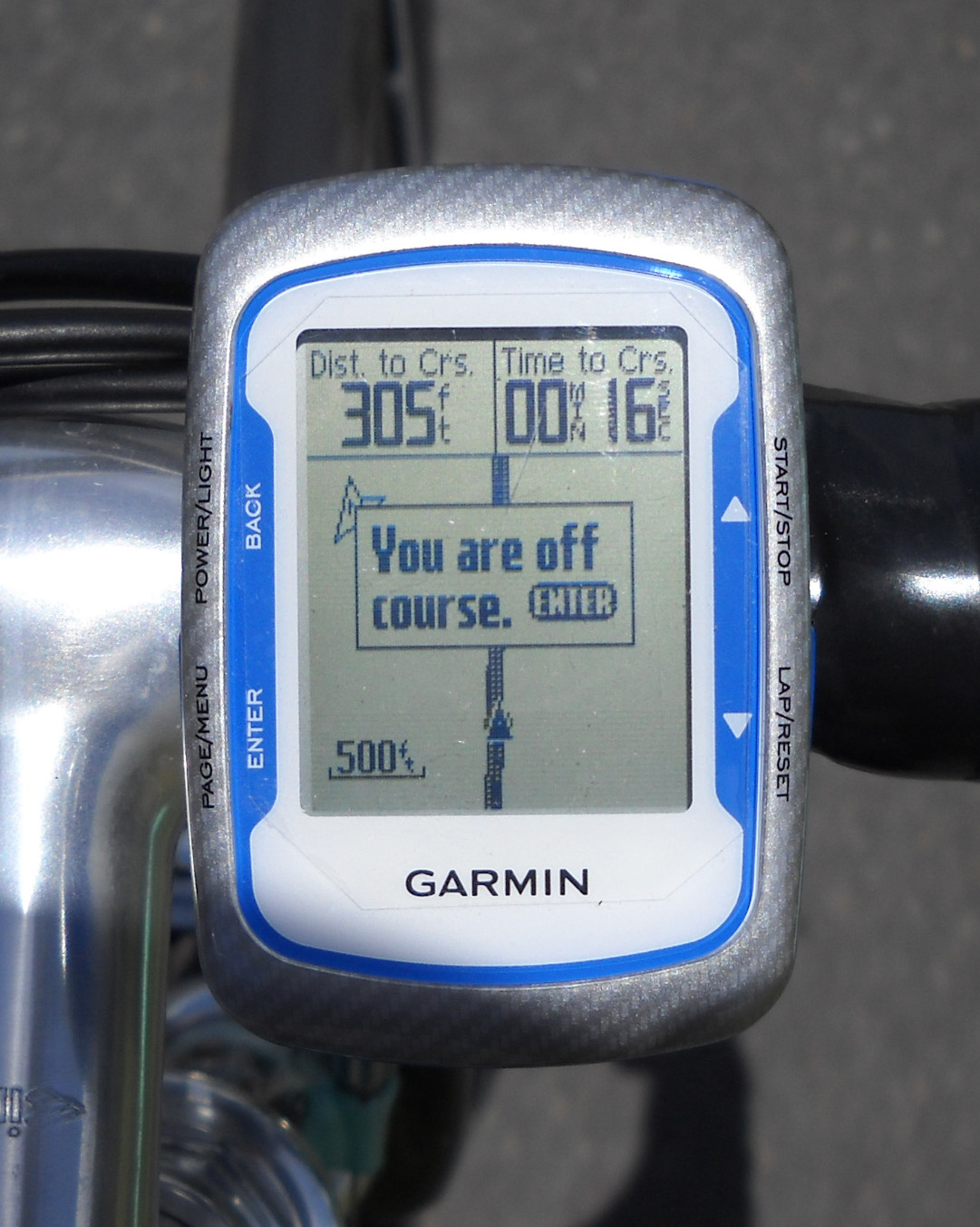 how to get an edited rout from 50lmt garmin