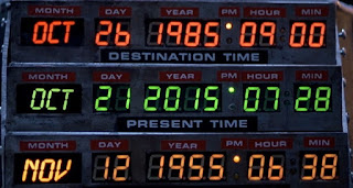 Regreso al futuro, Back to the future,