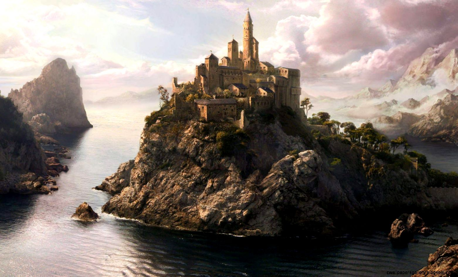 3D Castle Wallpapers  Full HD Pictures
