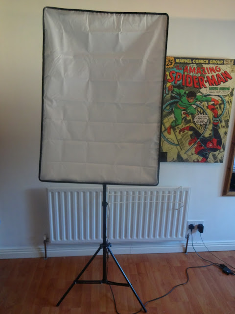 '2 x Continuous Lighting Kit 50x70cm Softbox Soft Box Photo Studio Set Lights