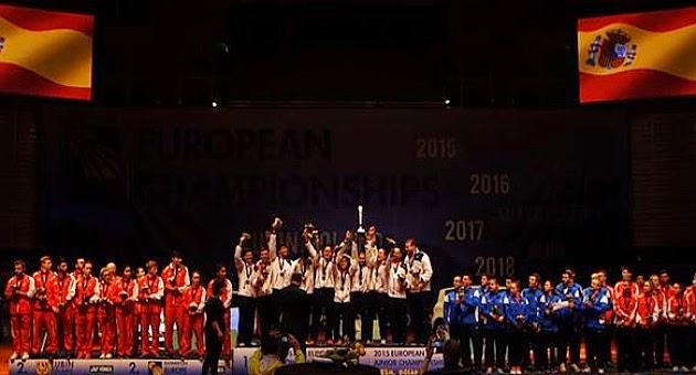 BÁDMINTON - España campeón del Europeo Junior