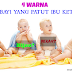 4 Warna Najis Bayi Yang Patut Ibu Ketahui