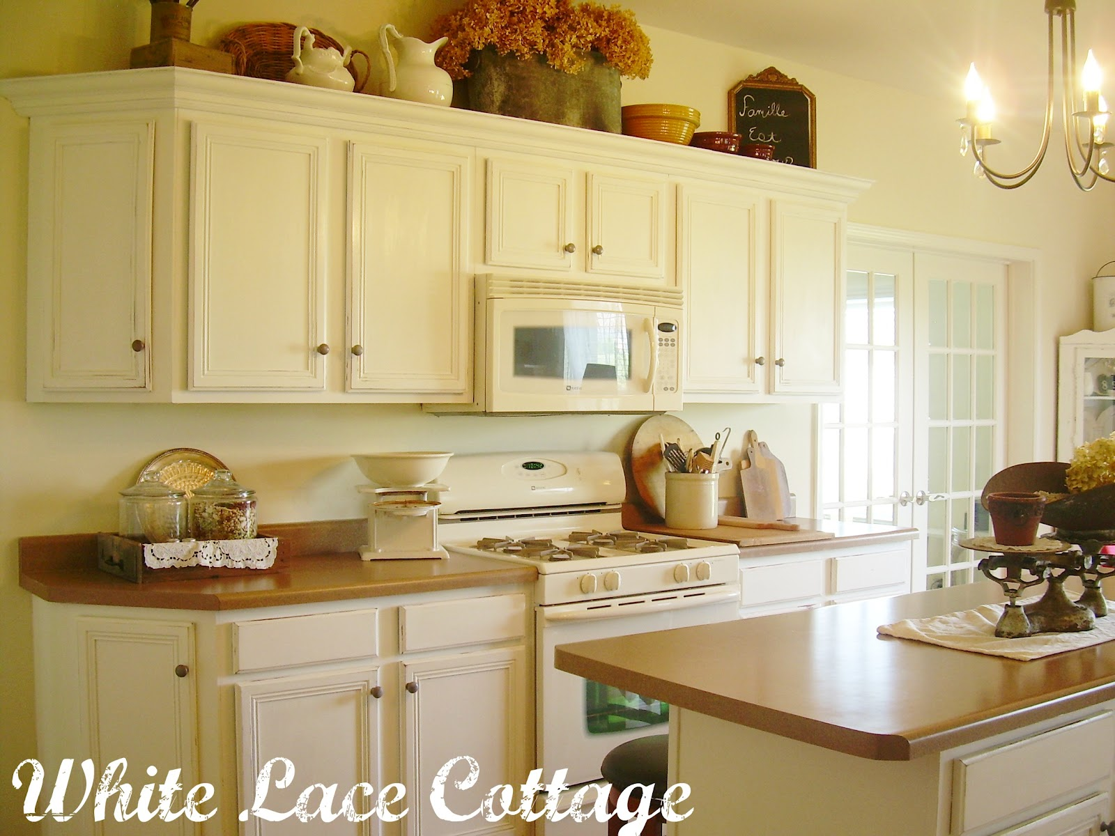 Kitchen Reveal Day! - White Lace Cottage