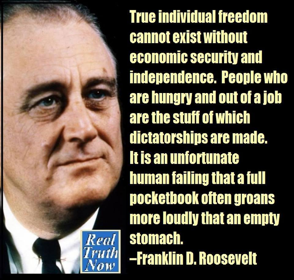 Franklin Delano Roosevelt Quotes Union Perspectives Minimum Wage Is Important