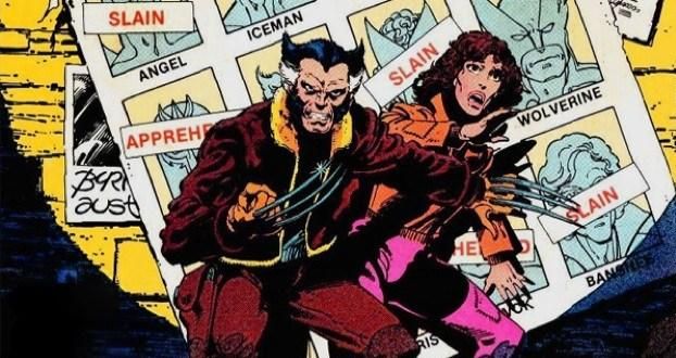 Wolverine Kitty Pryde on cover of X-Men #141