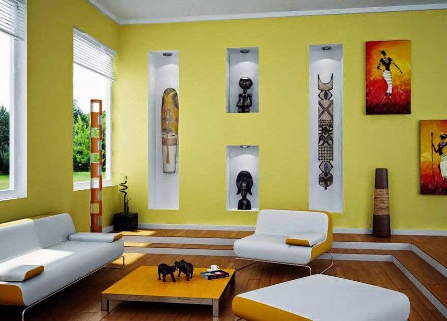 Paint-design-minimalist-house-guest-room-Best