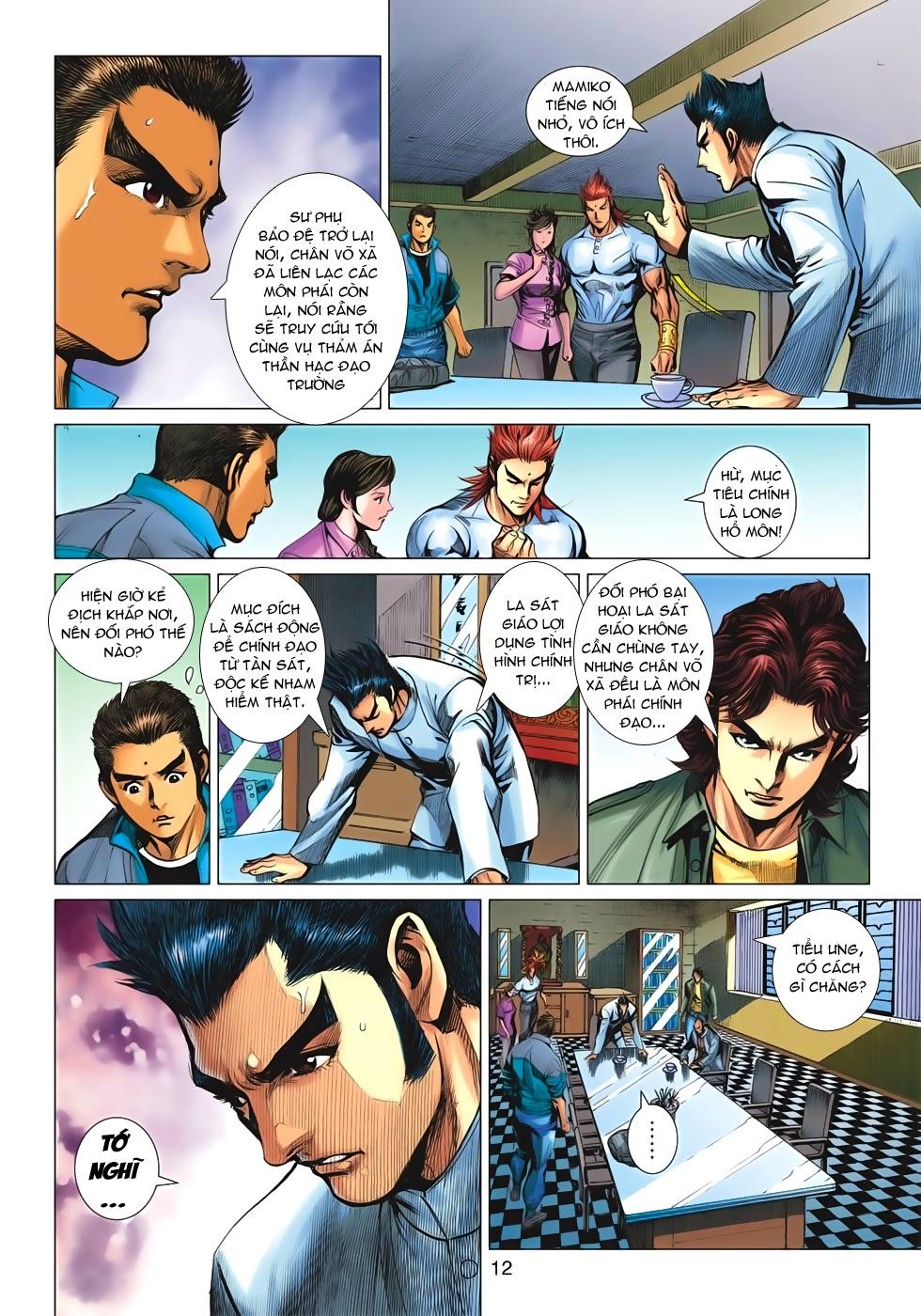 Tân Tác Long Hổ Môn chap 659 - Trang 12