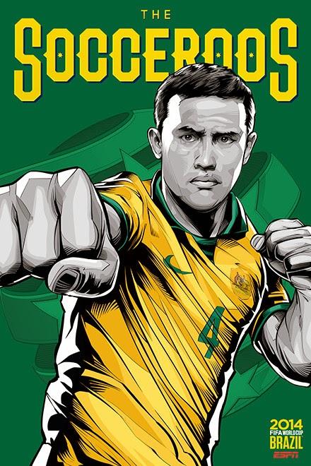 Poster keren world cup 2014 - Australia